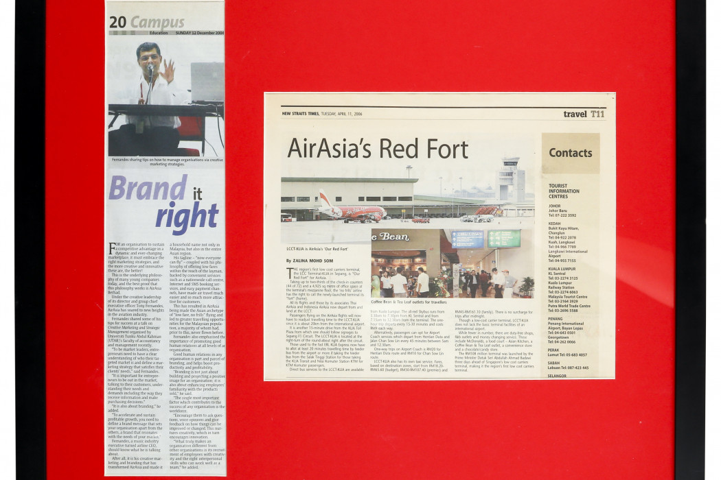 (1) Brand It Right & (2) airasia's Red Fort