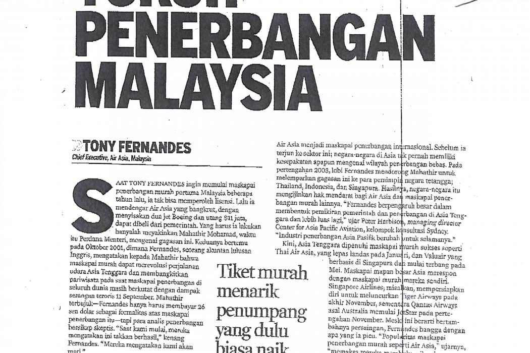 (1) Tokoh Penerbangan Malaysia