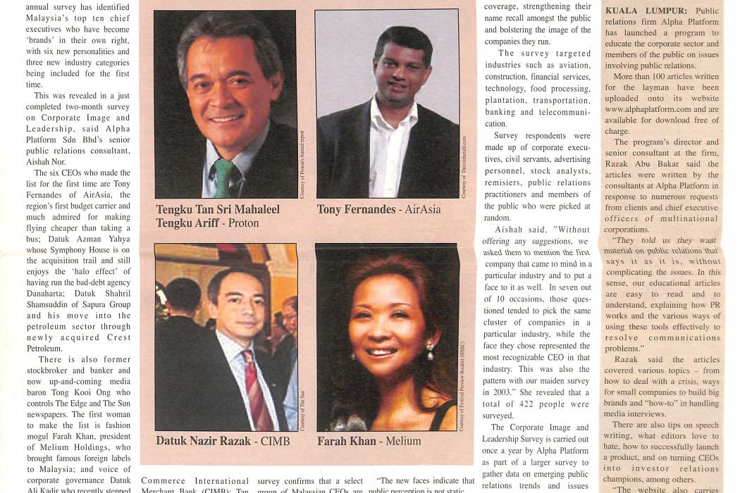 10 Malaysian CEOs Are 'Brands'
