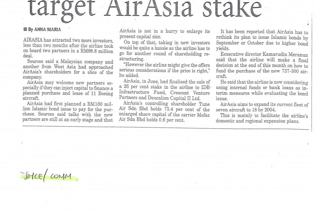 2 more investors target airasia stake