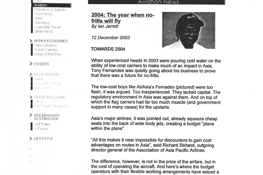 2004 The year when no-frills will fly (1)