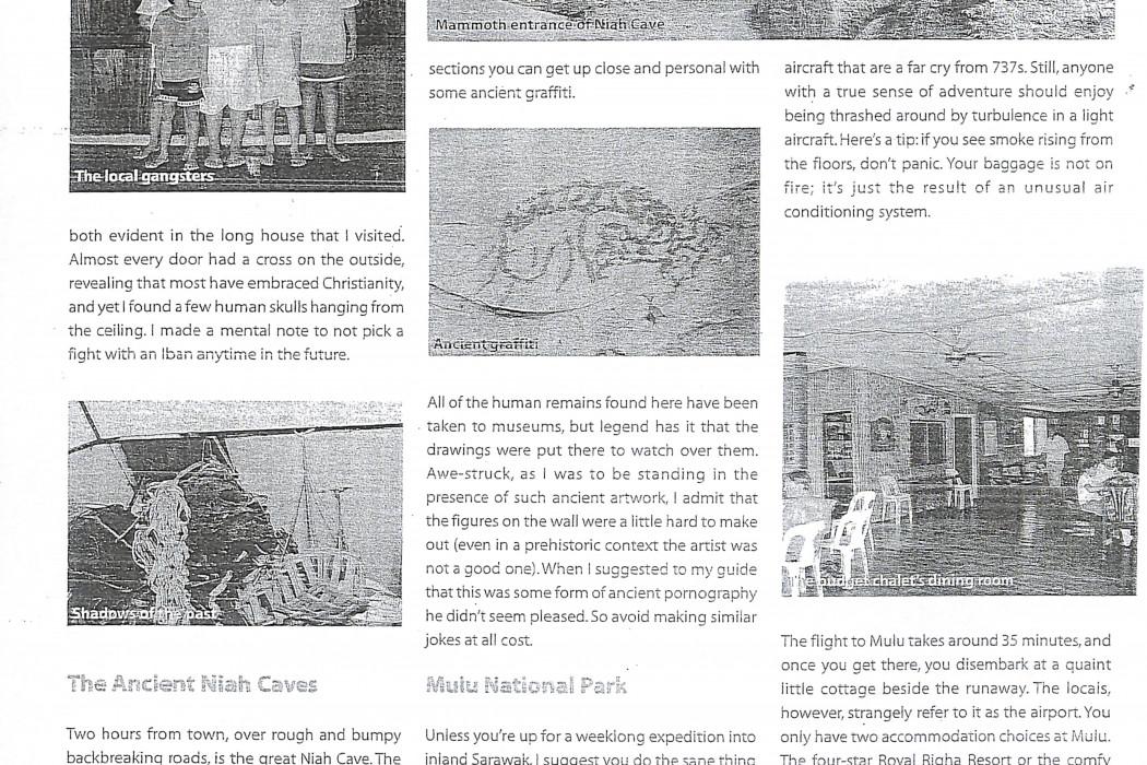 (3) airasia Malaysia on Budget. Magical Miri and Mulu; Venturing 'Deep' Into the Heart of Sarawak