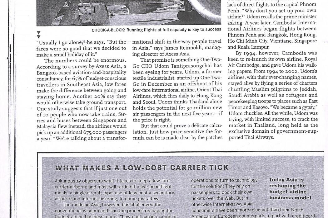 (3) Asia takes To Cheaper Skies