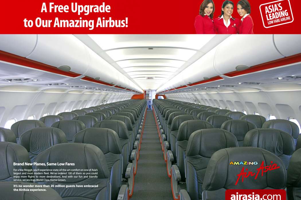 A Free Upgrade to Our Amazing Airbus
