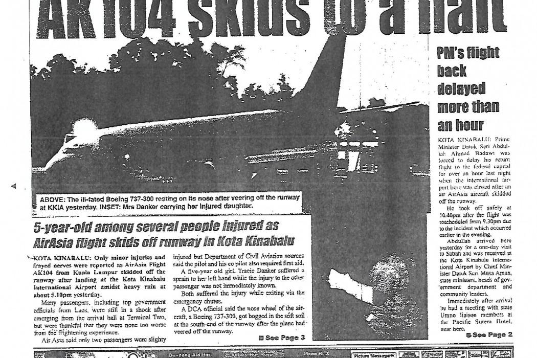 AK104 skids to a halt - 01