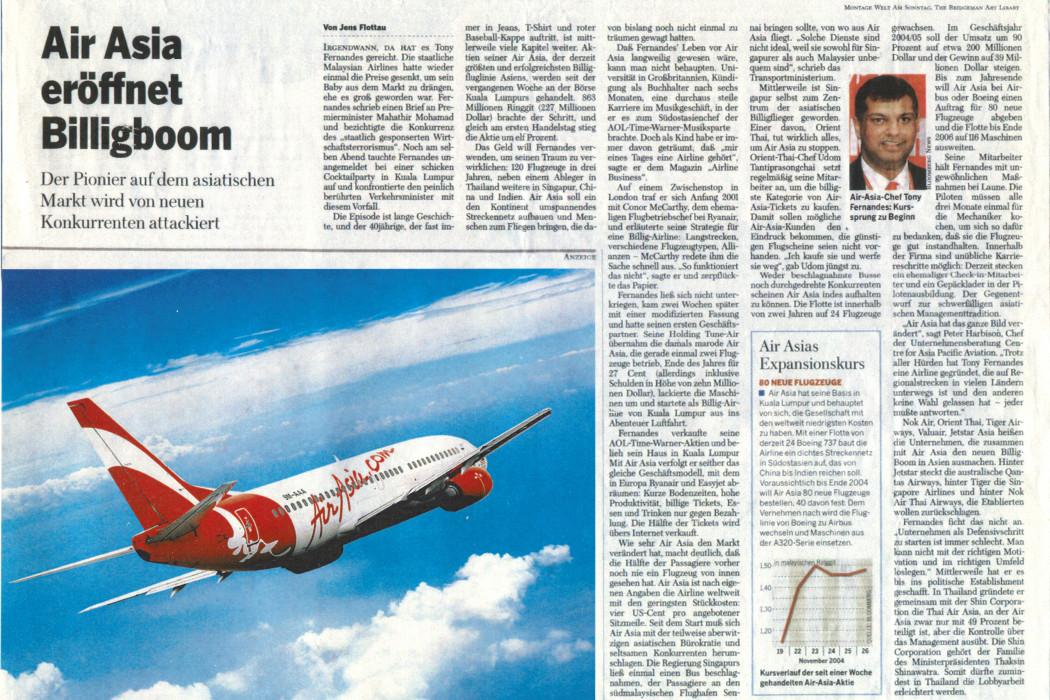 Air Asia Eröffnet Billigboom
