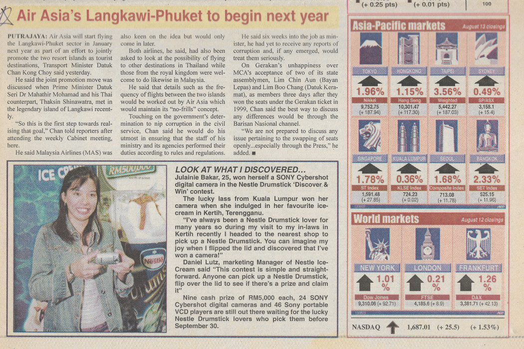 Air Asia's Langkawi-Phuket to begin next year (2)