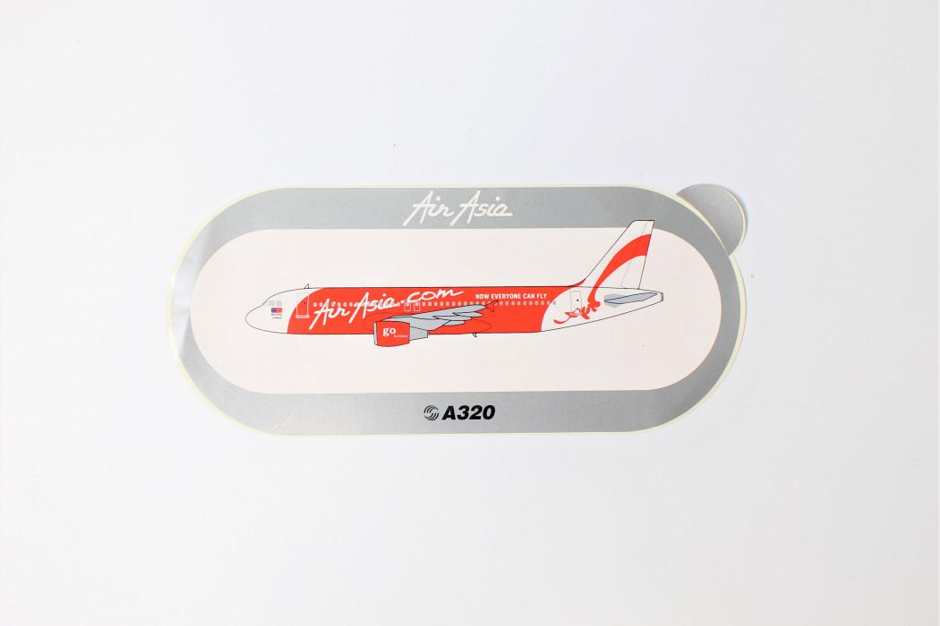 airasia A320 sticker