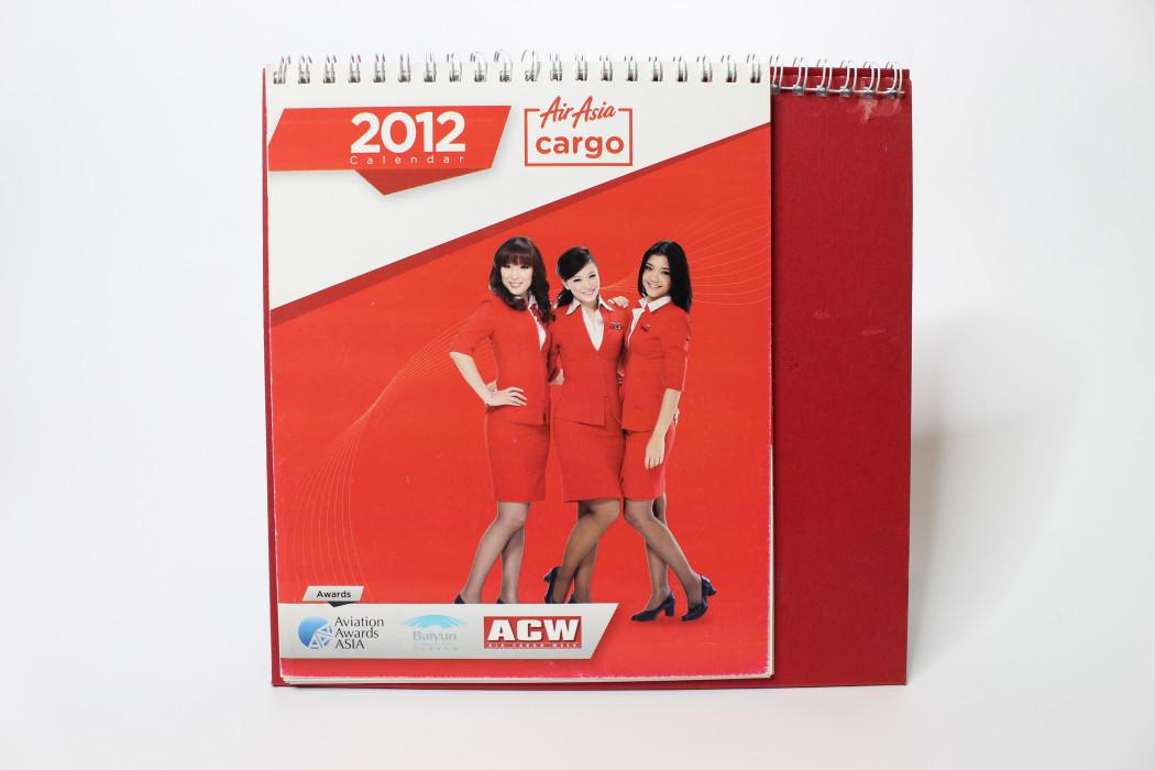 airasia Cargo 2012 Calendar (1)