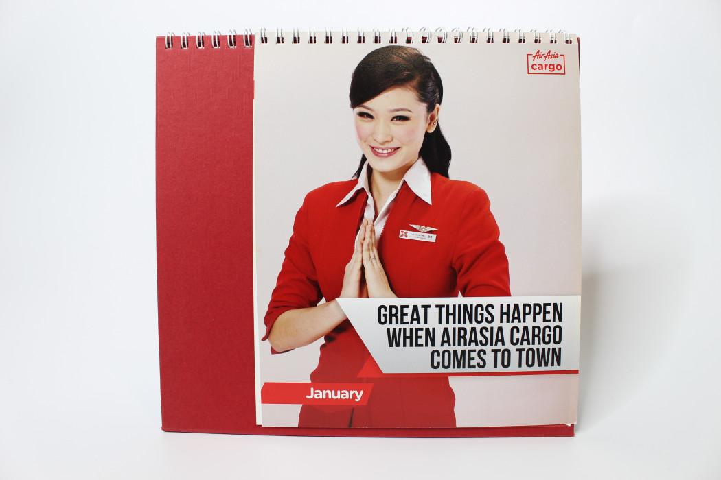 airasia Cargo 2012 Calendar (2)