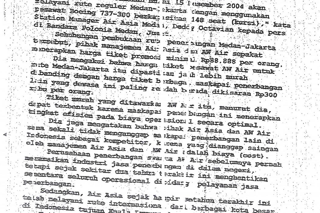 airasia Gandeng AW Air Buka Rute Medan-Jakarta