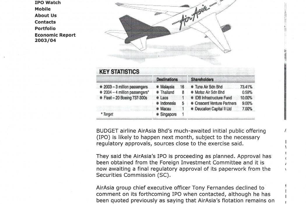 airasia IPO to take off next month (1)