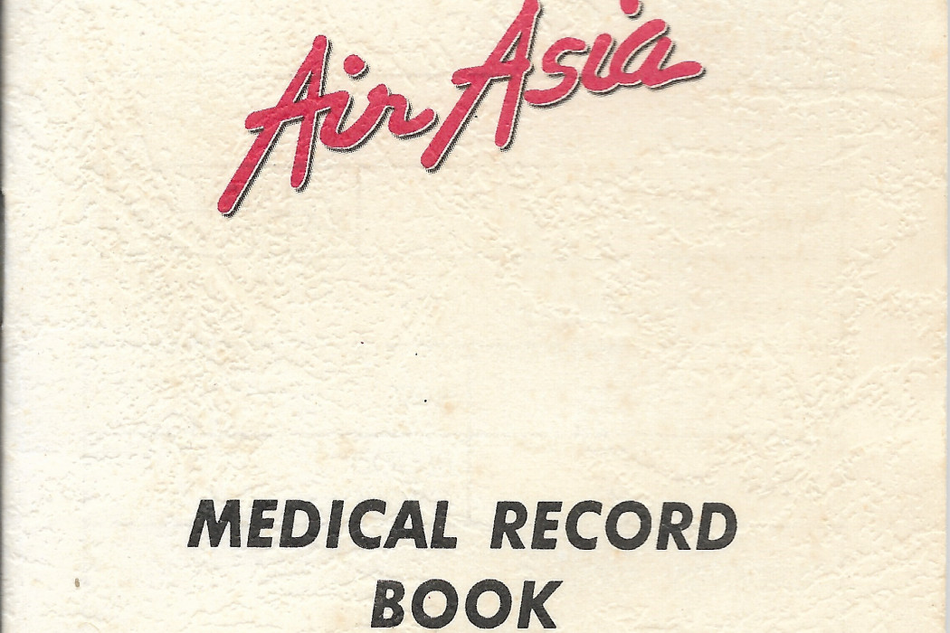 airasia Medical Record Book (1)