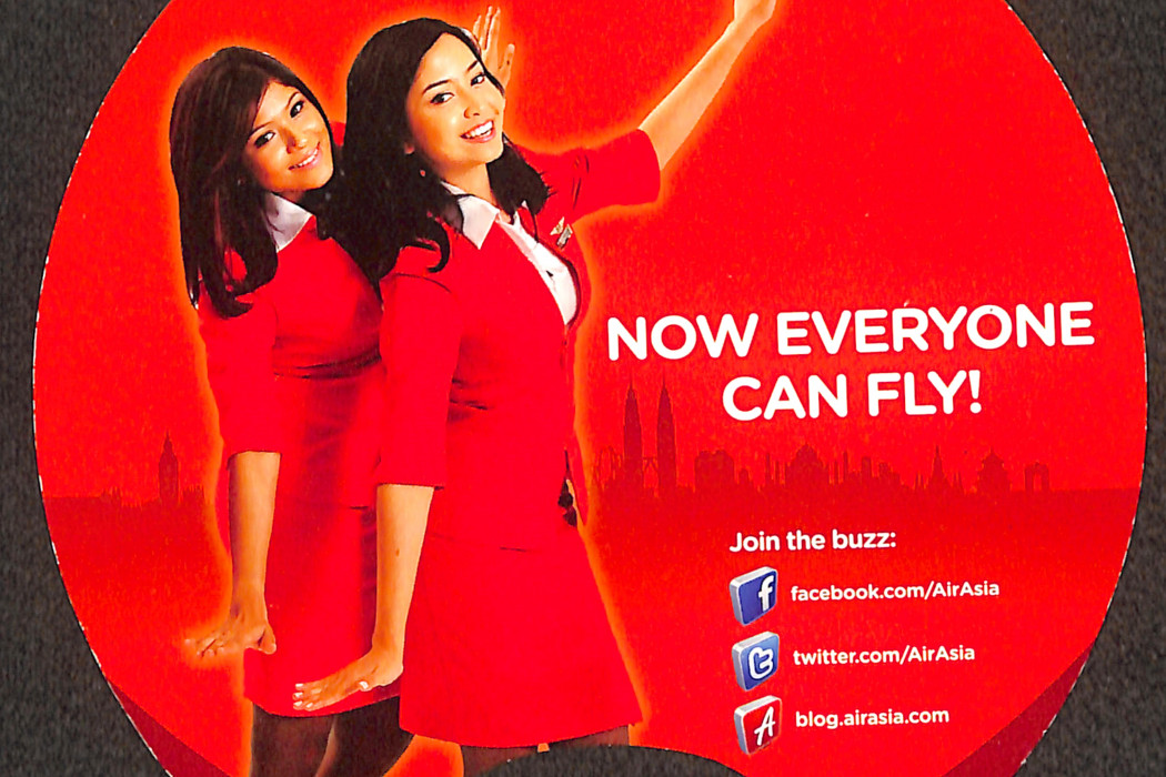 airasia Paper Fan Now Everyone Can Fly (2)