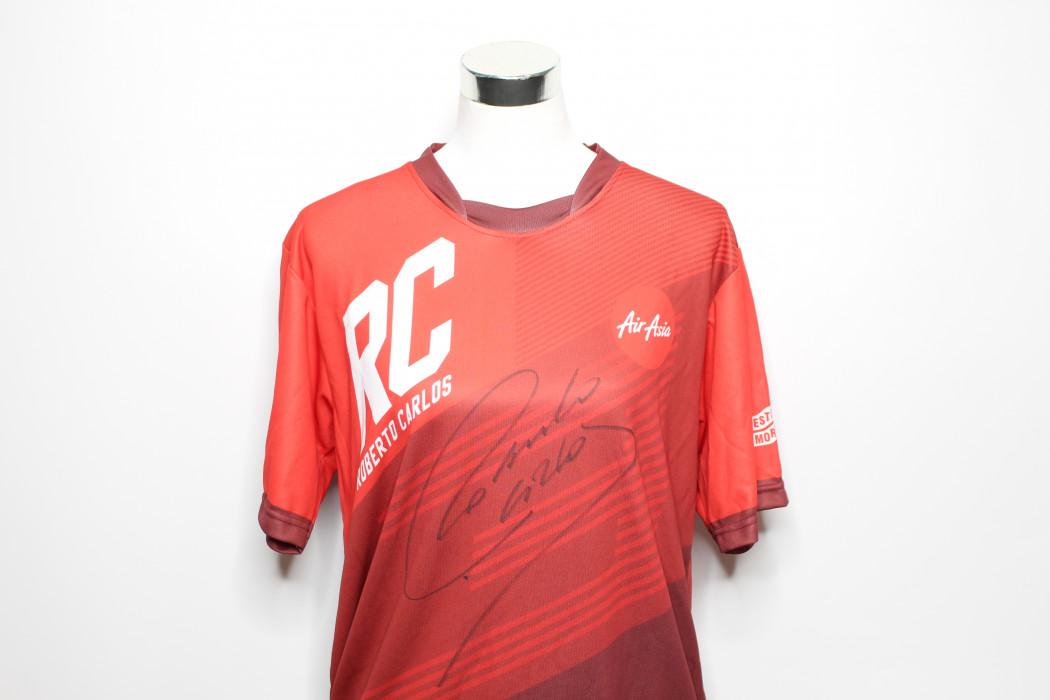 airasia Roberto Carlos signed shirt (1)
