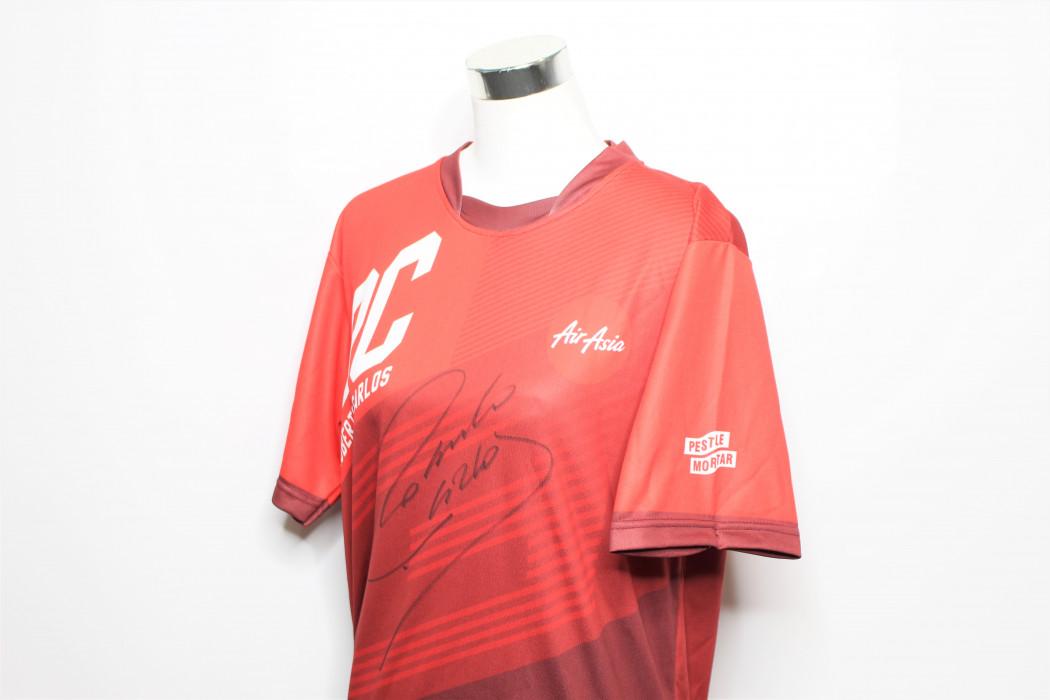 airasia Roberto Carlos signed shirt (2) edited