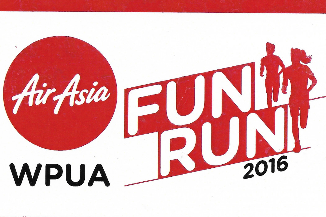 airasia WPUA Fun Run 2016