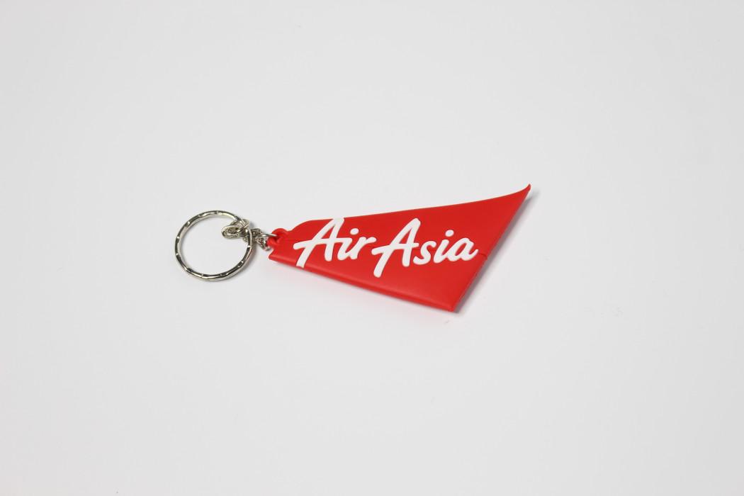 airasia airplane wing keychain