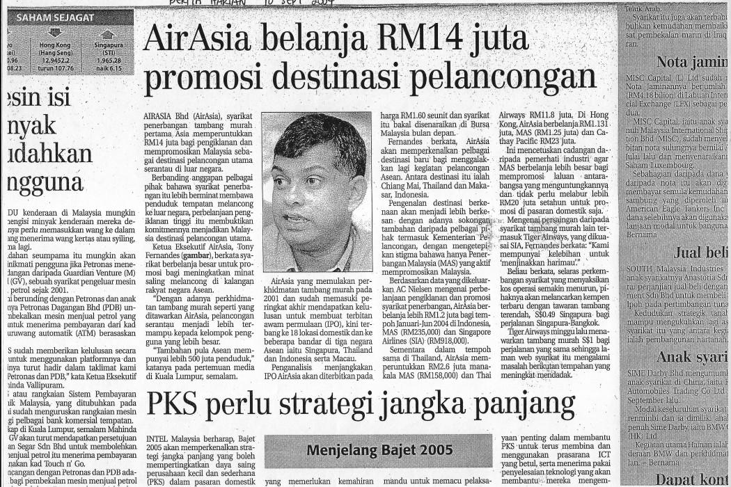 airasia belanja RM14 juta promosi destinasi pelancongan