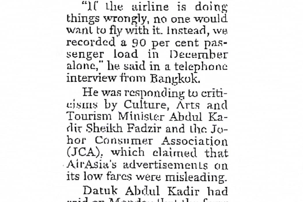 airasia chief defends fare structure