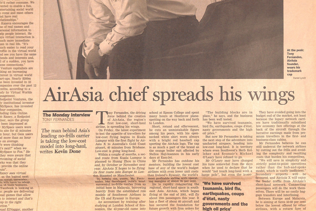 airasia chief spreads his wings (2)