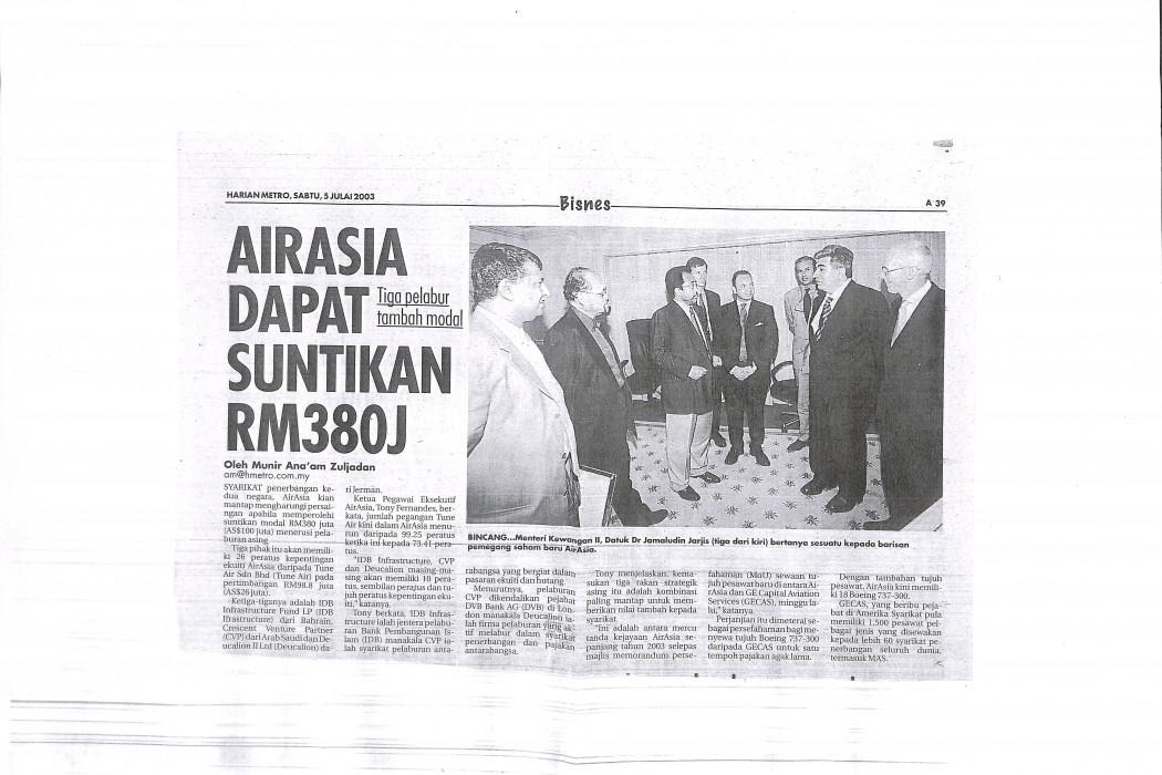 airasia dapat suntikan RM380j