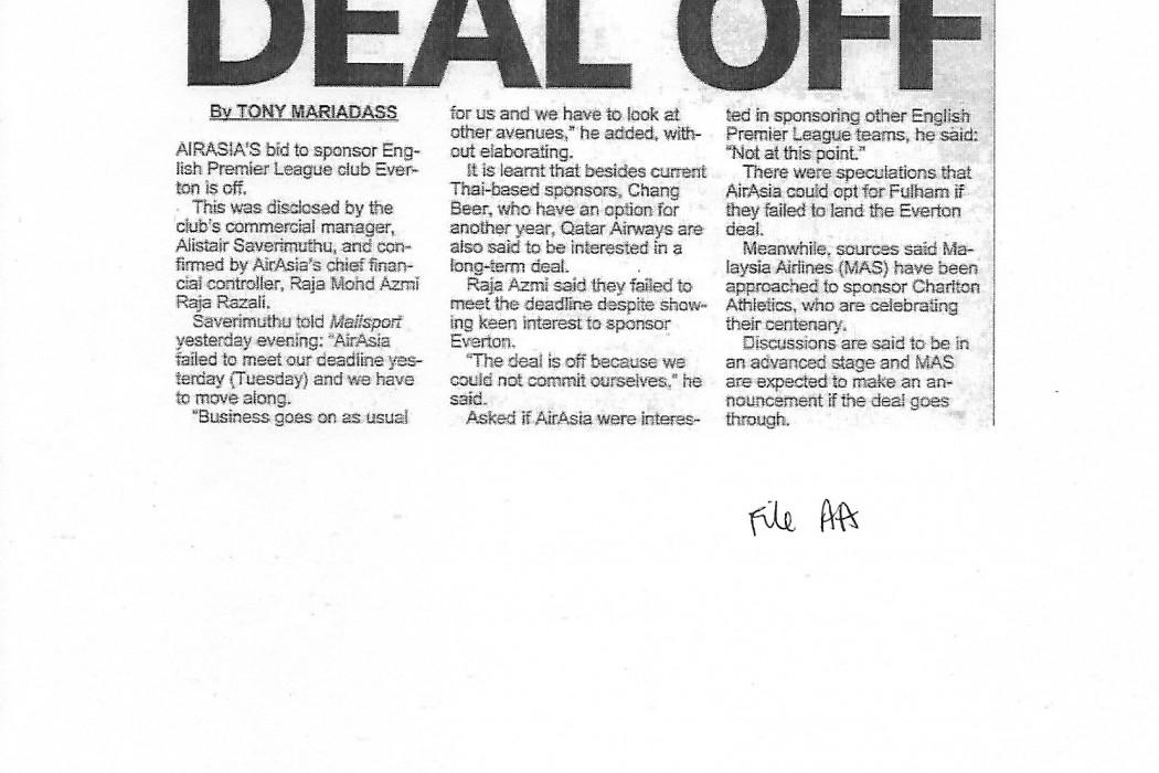 airasia deal off