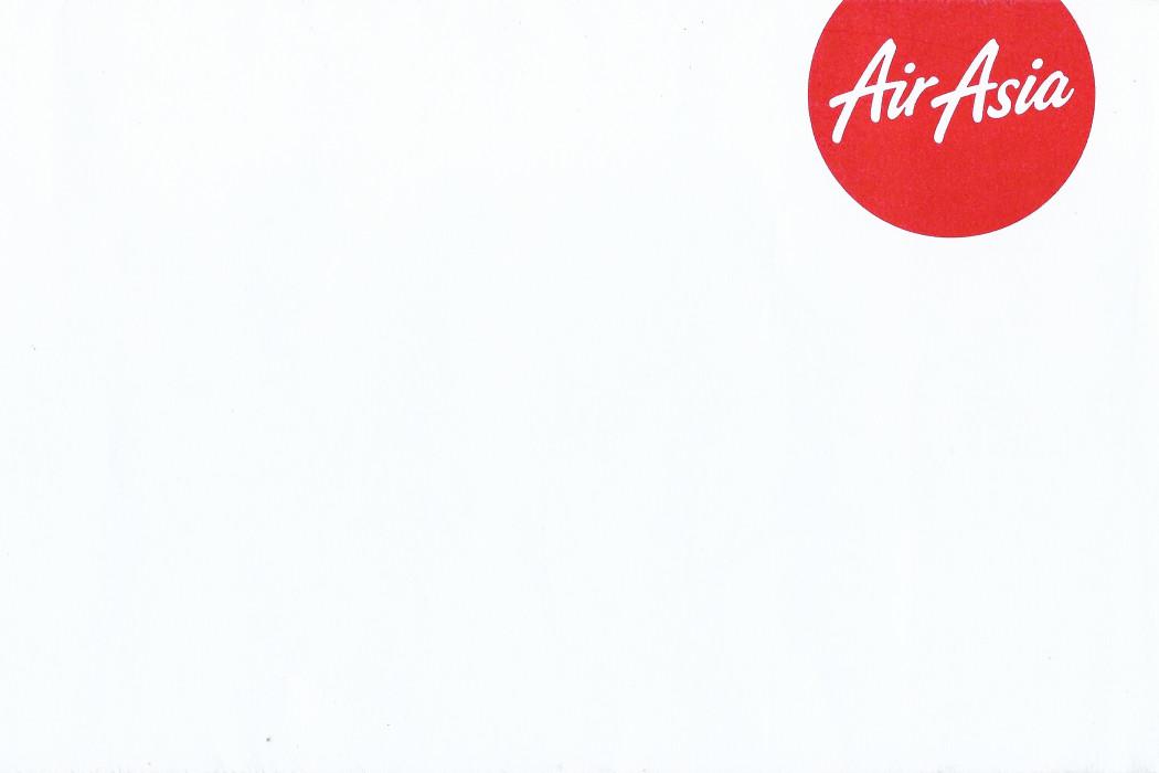 airasia Envelope (circular Design) (1)
