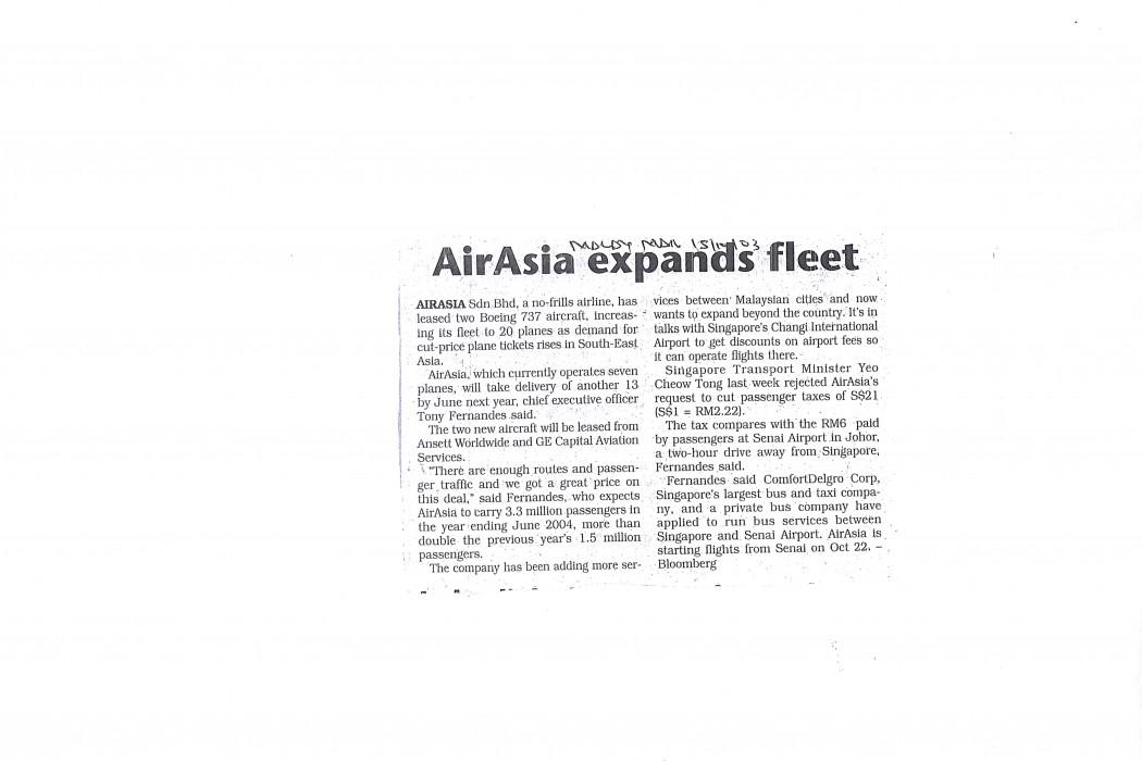 airasia expands fleet