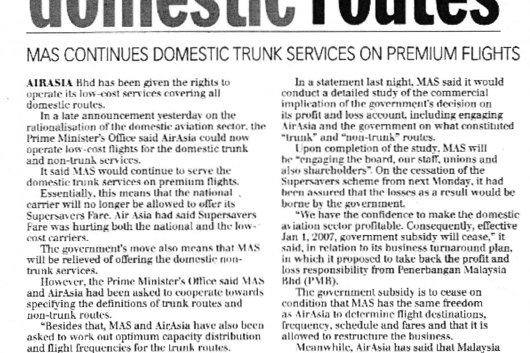 airasia gets all domestic routes