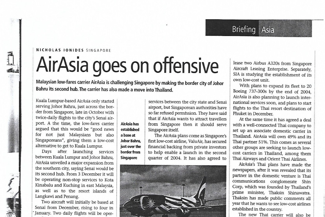 airasia goes on offensive