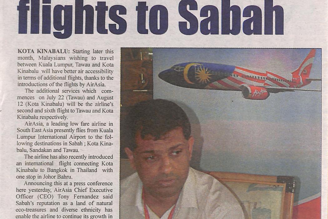airasia increases flights to Sabah