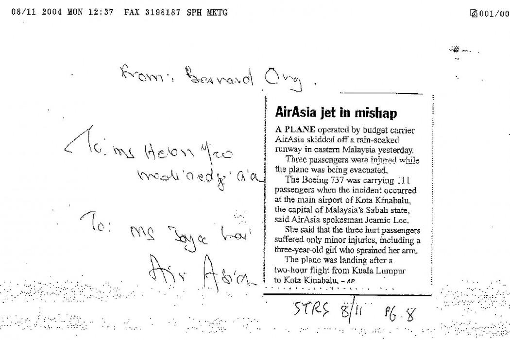airasia jet in mishap