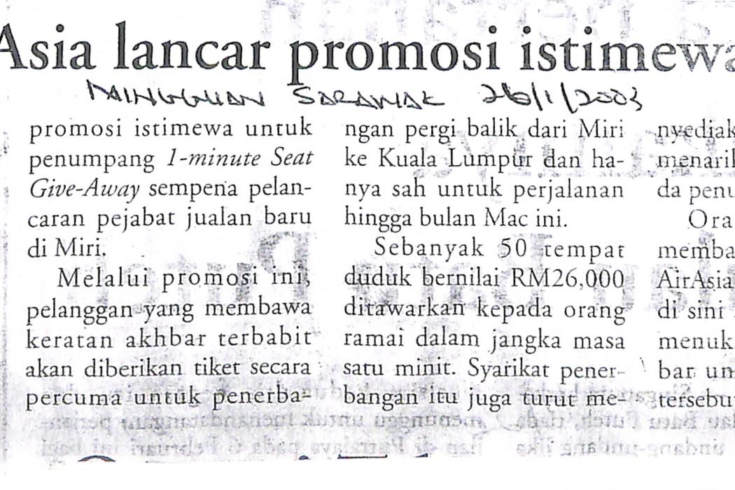 airasia lancar promosi istimewa