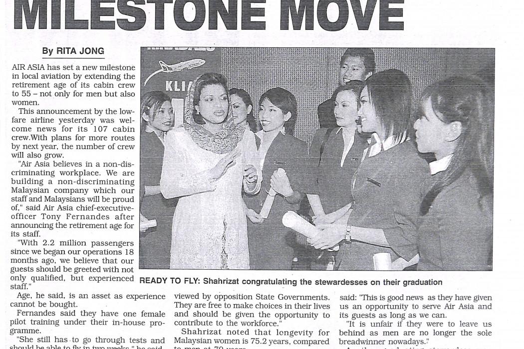 airasia lauded for milestone move