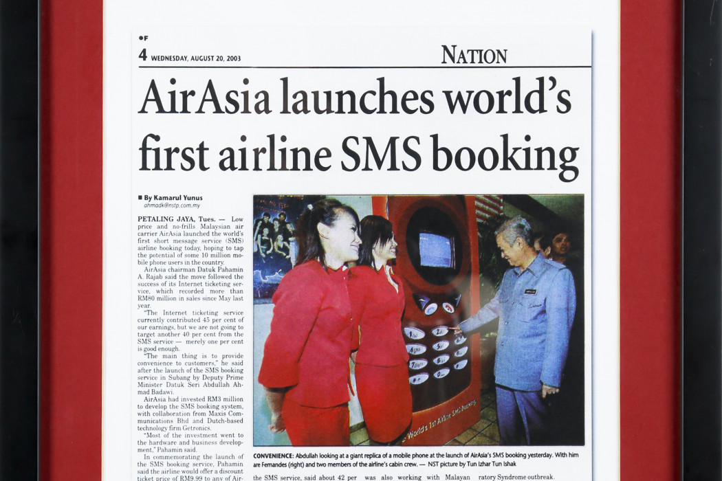 airasia Launches World's First Airline SMS Booking