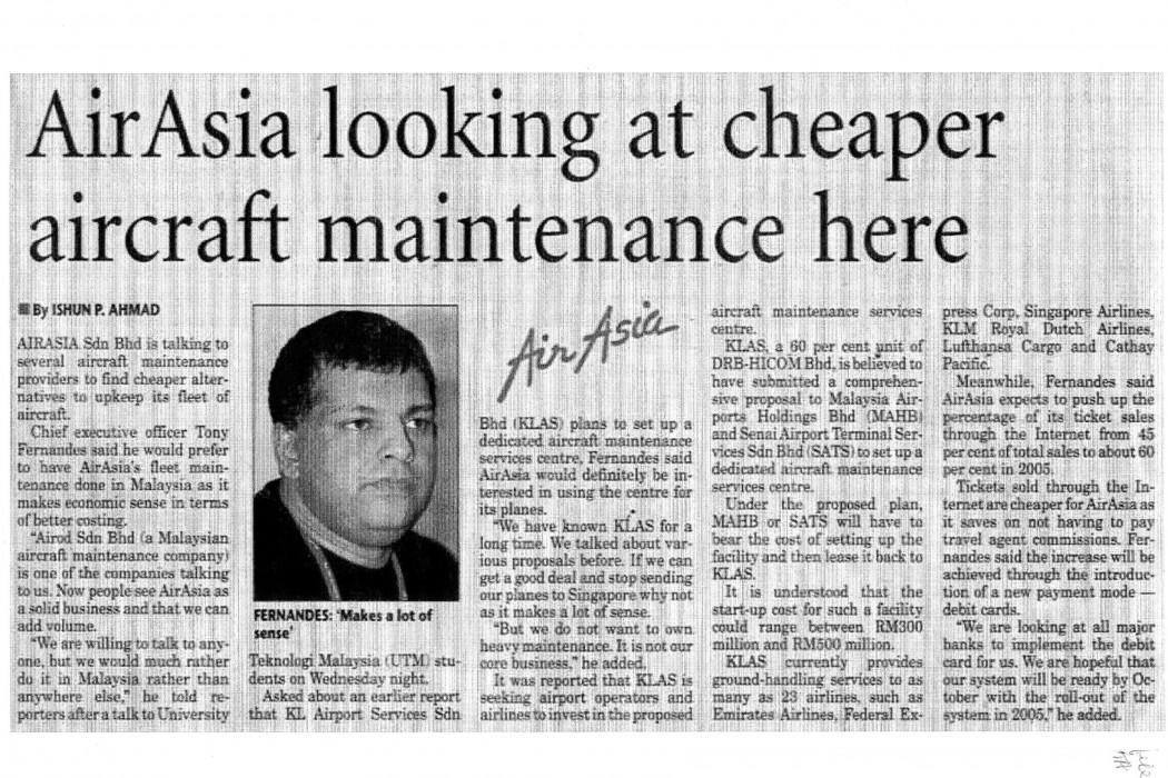 airasia looking at cheaper aircraft maintenance here