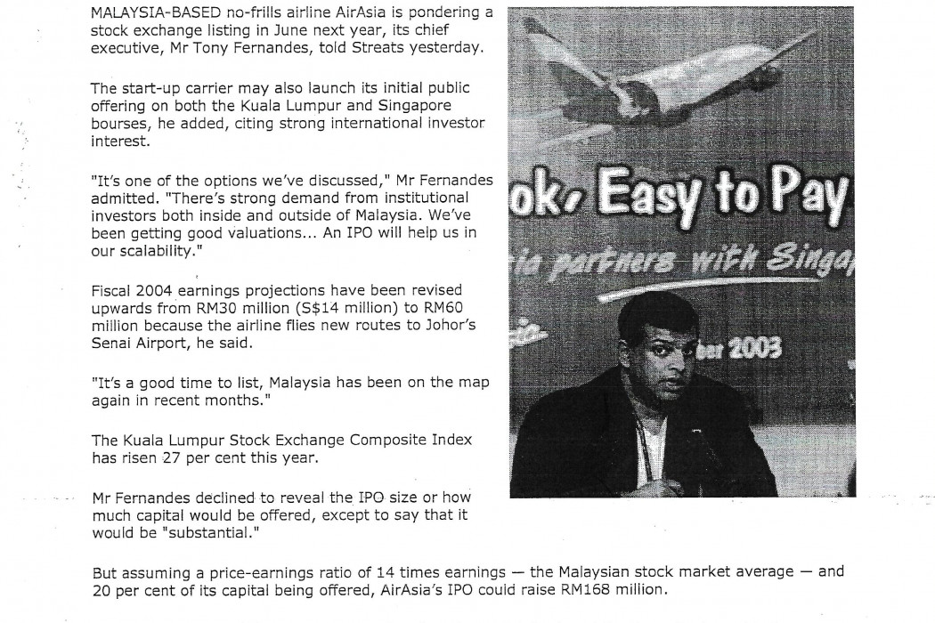 airasia may launch IPO next June (1)