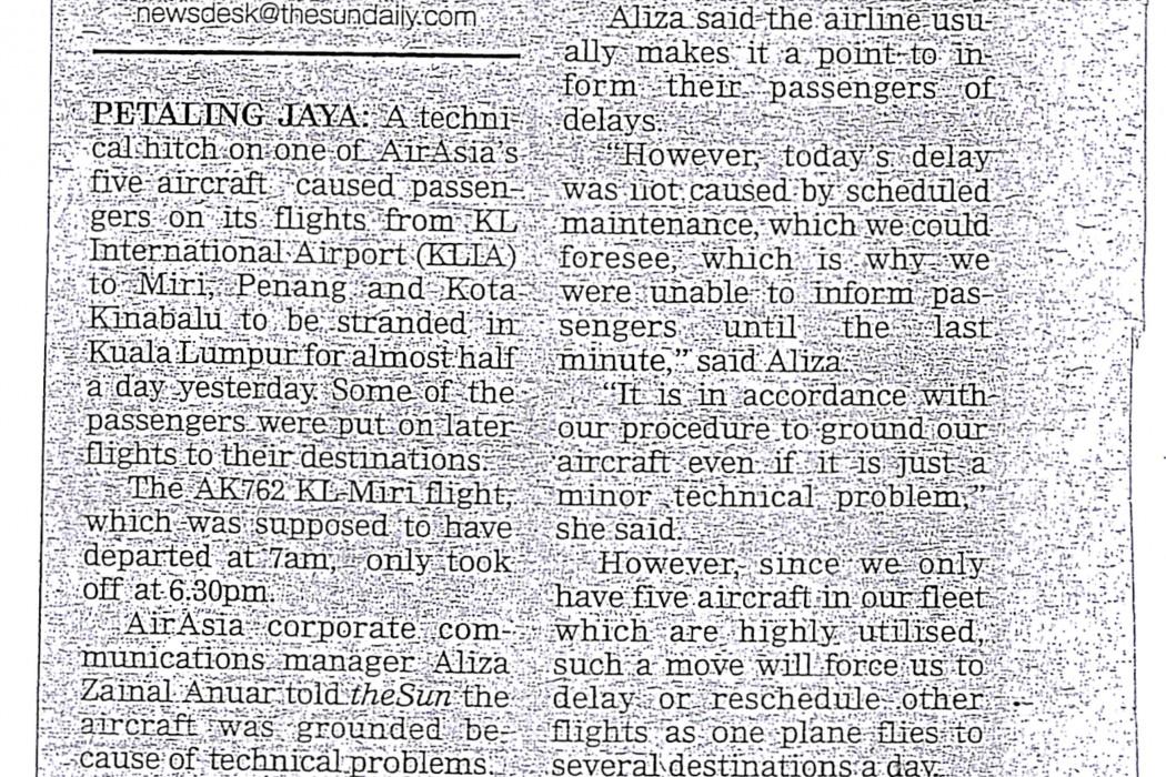 airasia passengers stranded at KLIA