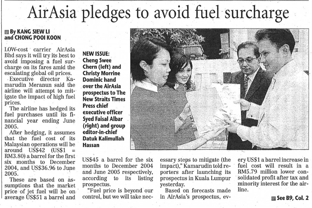 airasia pledges to avoid fuel surcharge (1)
