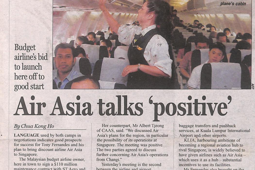 airasia talks 'positive'
