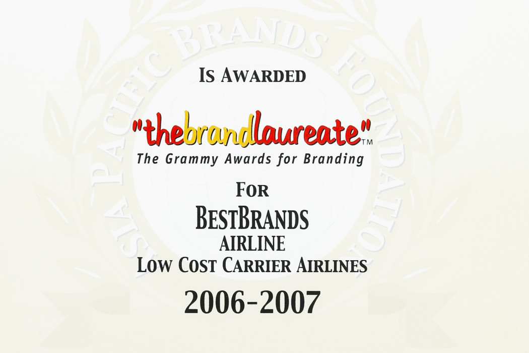 airasia Thebrandlaureate For BestBrands Airline Low Cost Carrier Airlines