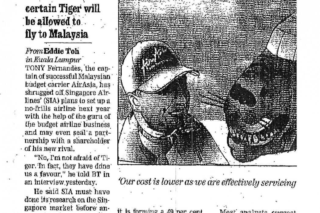 airasia threatens to undercut Tiger - 01