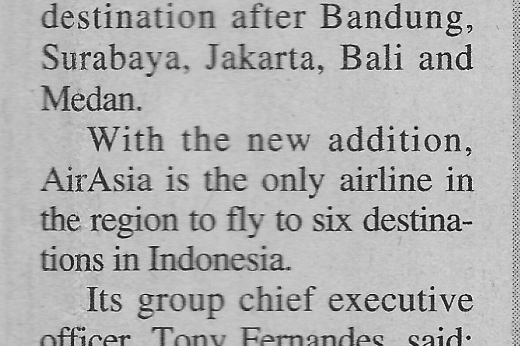 airasia to fly to Padang from Nov 8 (2)