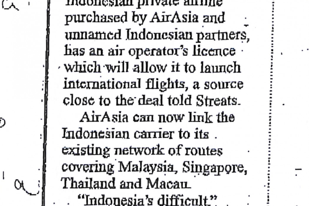 airasia unit has foreign licence