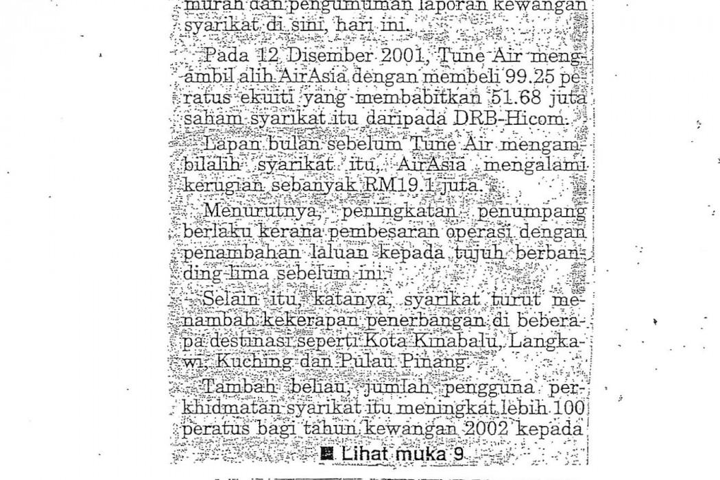 airasia untung RM19.4 juta