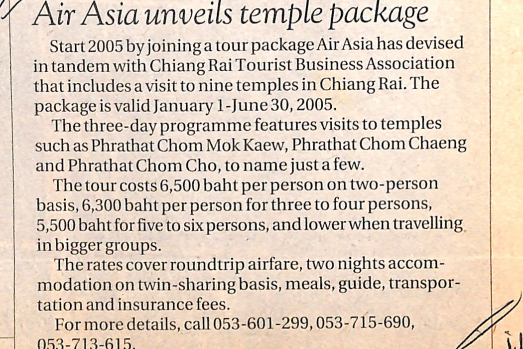 airasia unveils temple package