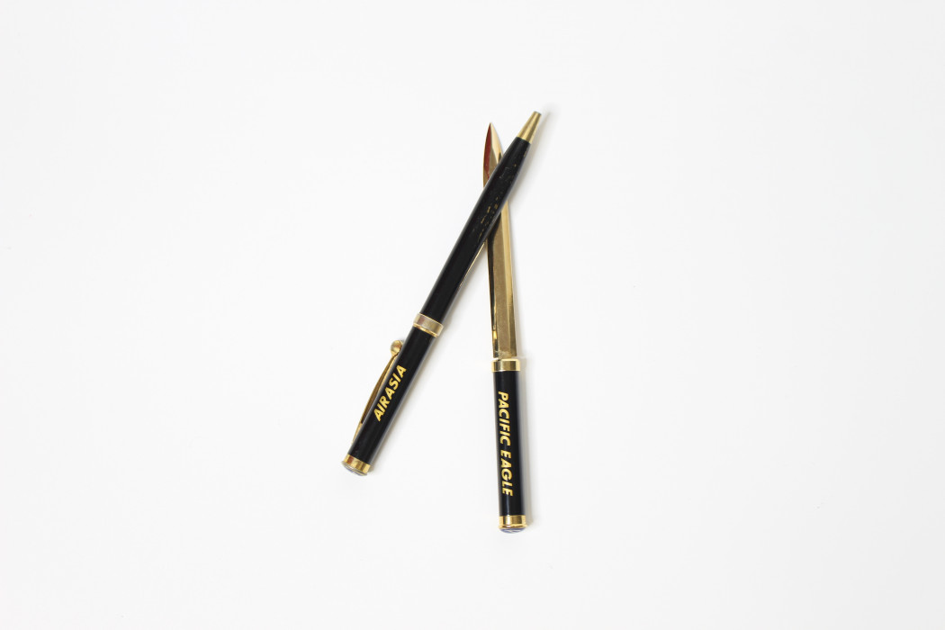 airasia x Pacific Eagle pen & letter opener - DRB HICOM (2)