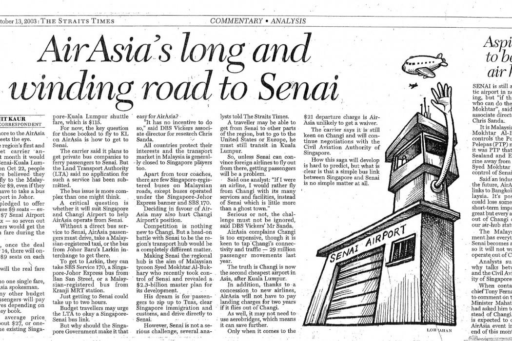 airasia's long and winding road to Senai
