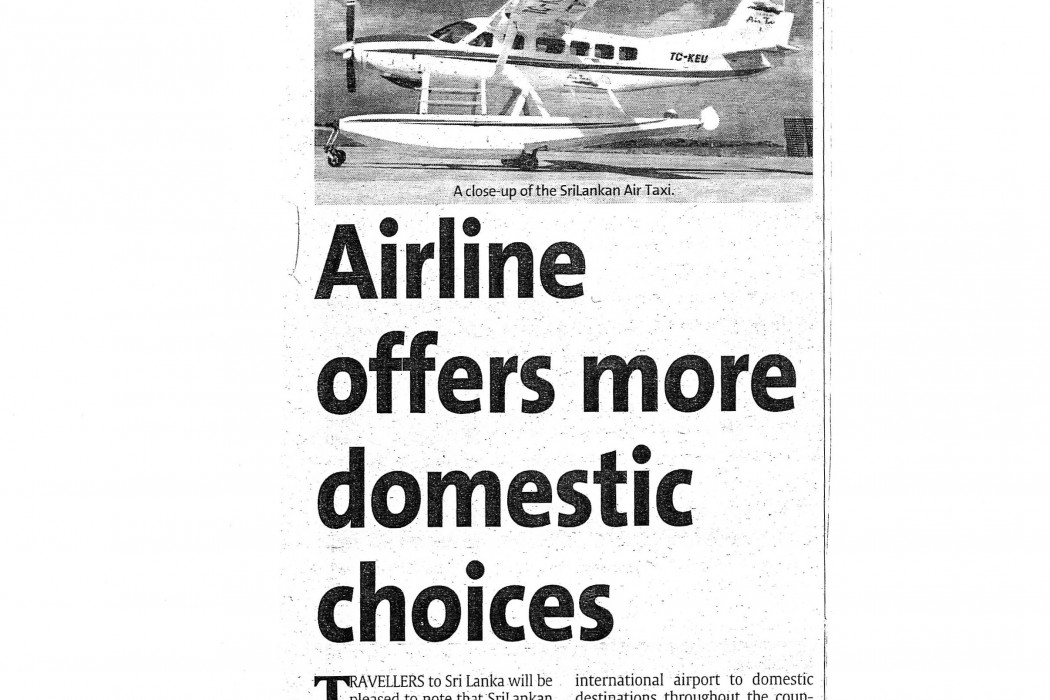 Airline offers more domestic choices